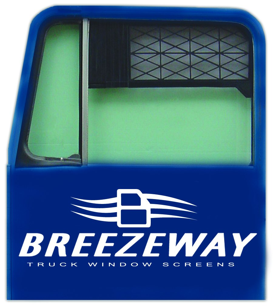 Breezeway Screens #3 Black Small Sized Truck Window Screen