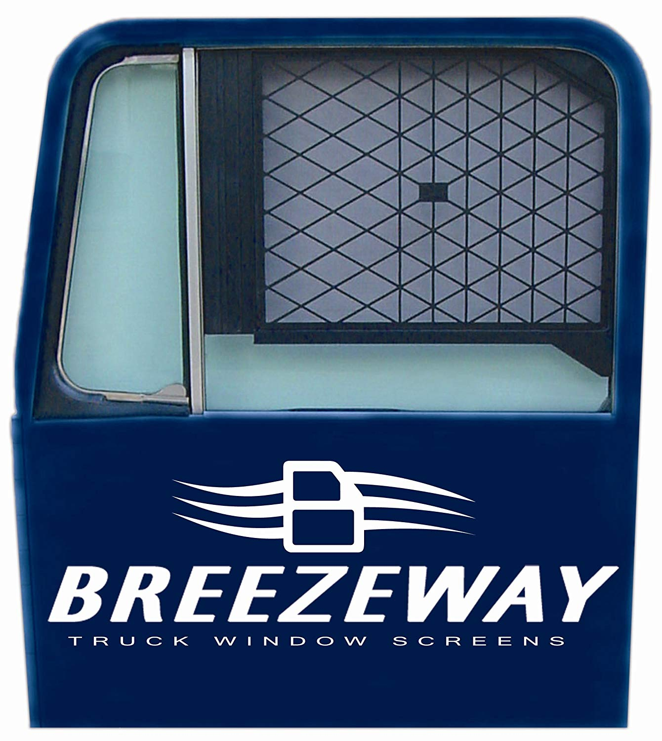 Breezeway Screens #1 Black Full Sized Truck Window Screen