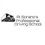 Al Sorano's Professional Driving School logo