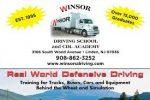 Winsor's Tractor Trailer Driving School logo
