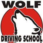 Wolf Driving School logo